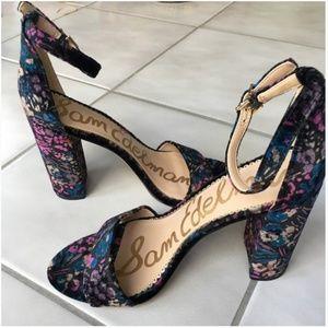 Sam Edelman Yaro Block Heel Sandal - Floral
